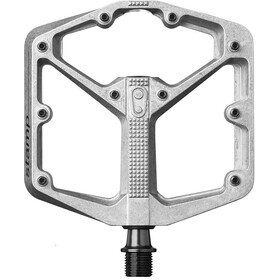 Crankbrothers Stamp 2 Pedales de plataforma S, raw silver